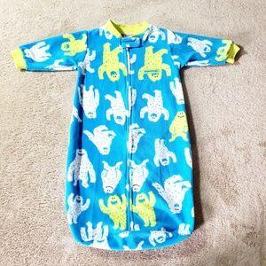Carters Sleep Sack Pajamas Fleece Nightgown